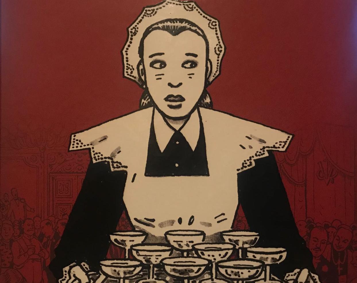Ilustración de portada de El ala rota, de Antonio Altarriba y Kim