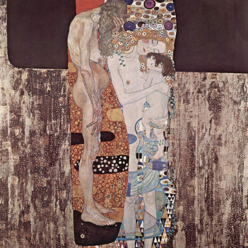 Las edades de la mujer, de Gustav Klimt