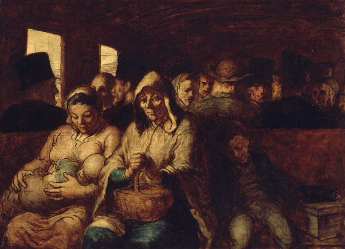 The Third-Class Carriage, de Honoré Daumier