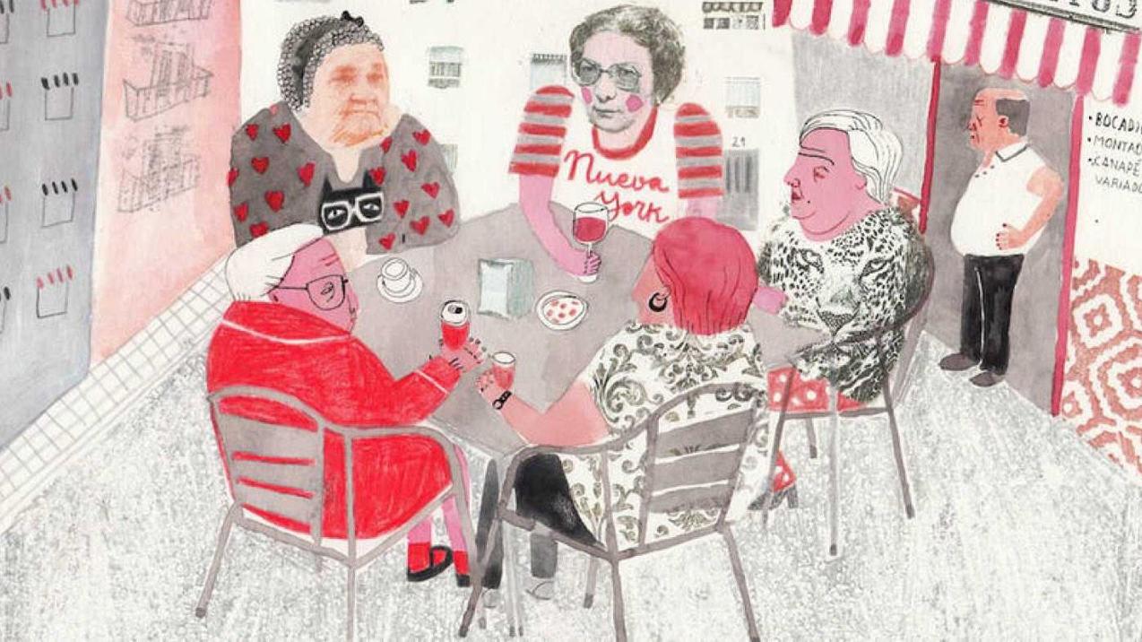 Ilustración de Ana Penyas del cómic