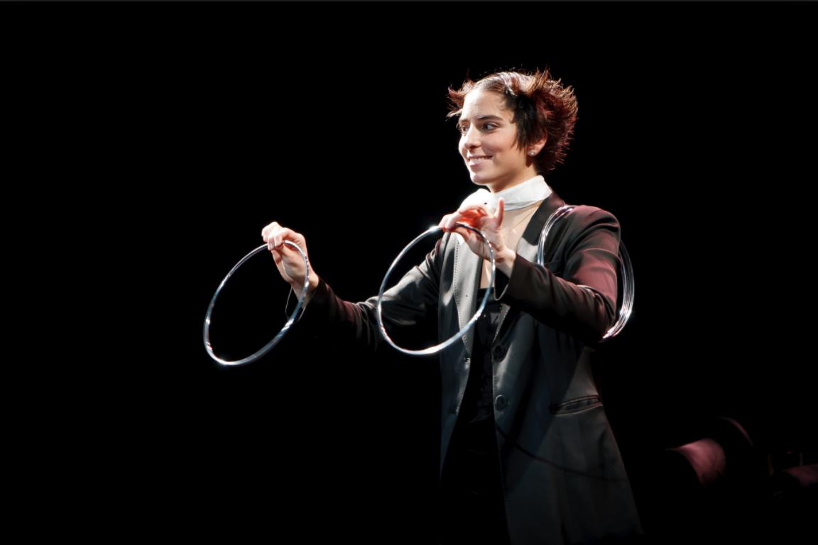 La maga Amelie en una de sus actuaciones. FOTO: AMELIE MAGIA