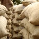 Sacos de granos de café